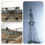 삼각형 마이크로파 안테나 각 강철 커뮤니케이션 격자 탑