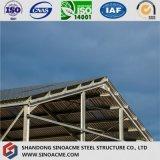 Estructura de acero galvanizada para el almacén