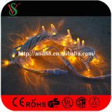 Éclairage féerique de fil en caoutchouc de décoration de vacances