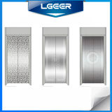 Passageiro Elevator com Mirror Etching Stainless Steel