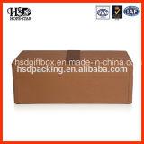 Caja de papel de empaquetado del vino de cuero de lujo de Hotsale