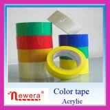 Farbiger Zoll druckte Band-Hersteller Colorfull BOPP Selbstanhaftendes Verpackungs-acrylsauerband