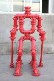 Las piezas acodadas Grooved del hierro dúctil con FM/UL aprobaron (la fábrica profesional)