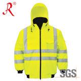 Chaqueta reflexiva de la seguridad de la alta calidad (QF-503)