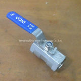 Steel di acciaio inossidabile 1PC Reduce Ball Valve con Ce Certificate