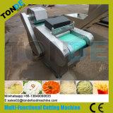 Pommes chips végétales de fruit d'acier inoxydable coupant la machine de découpage en tranches