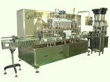 Máquina de enchimento automática do champô com linha de empacotamento do frasco