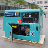 generador diesel portable 5kVA con el sistema de carga de la rueda volante