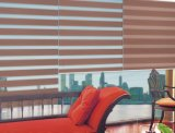 簡単で装飾的なファブリック日夜シマウマは虹のカーテンを盲目にする