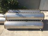 Verwarmer van het Water van de Zonne-energie van de Pijp van de Hitte van het roestvrij staal de Compacte Onder druk gezette
