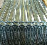 Toiture en acier galvanisée plongée chaude de Roofing/Gi avec le moulin direct d'Al de 55%