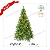 7 voeten van de In het groot Kunstmatige Met de hand gemaakte Plastic Kerstboom/de Gemengde Kerstboom van Bladeren