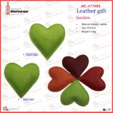 Heart bello Shaped Leather Paper Weight (4774R9)