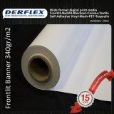 10oz-14ozデジタルの印刷PVCポリエステルFrontlitの旗媒体