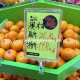 Рамка индикации плаката шипучки супермаркета пластичная
