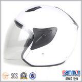 차가운 백색 열리는 마스크 기관자전차 또는 모터바이크 헬멧 (OP226가)