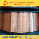 fio de soldadura do material de soldadura 15kg/Spool Er70s-6 de 1.2mm MIG com o cobre revestido