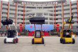 O motor Diesel 60HP Fuwei WS 60 roda o carregador do lince do boi do patim