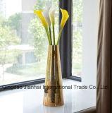 450ml装飾的なホームおよびオフィスのためのヨーロッパ式の元の花のガラス製品