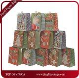 きらめきはクリスマスのギフト袋、ペーパーギフト袋、紙袋、ギフト袋、クラフト紙袋にアクセントを置く