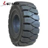 Los neumáticos sólidos de la alta calidad L-Guardan el neumático Shaped neumático 27*10-12 de los neumáticos sólidos