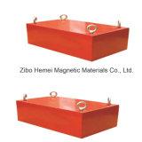 Séparateur magnétique permanent de suspension pour le convoyeur à bande, solvant de fer