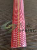 Mangueira reforçada trançada PVC ondulada