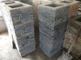 Естественные колонка цемента камня шифера/штендер (SMC-PC004)