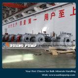 Pompe centrifuge résistante de boue de traitement minéral