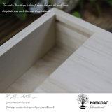 Cadre en bois fait sur commande de Hongdao avec deux parts pour des photos et USB Wholesale_L