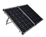 Painel solar portátil que dobra 200W para acampar