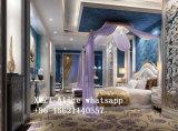 Casa chiara prefabbricata della struttura del blocco per grafici d'acciaio di alta qualità come villa