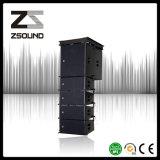 """Zsound La110sは低音システム15 """"ラインアレイSubwooferの積分器のためのコンパクトな可聴周波スピーカーの潜水艦の二倍になる"""