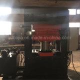 Couvre-tapis en caoutchouc faisant à machine la presse de vulcanisation de plaque en caoutchouc