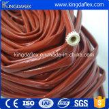 luva revestida da fibra de vidro da luta contra o incêndio do silicone de 45mm