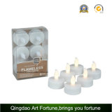 Vela Flameless do diodo emissor de luz Tealight com Ce a pilhas, RoHS Ceftificated