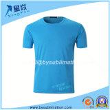 T-shirt rond à séchage rapide de collet de 220GSM Dacron