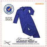 OEM de Sunnytex más el uniforme barato del Workwear del mecánico de la bata del juego del Mens de la talla