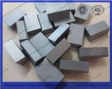 Напаянные режущие части карбида вольфрама ISO SGS для машины инструмента минирование