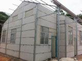Casa prefabricada del almacén de la estructura de acero de Panelprefabricated del emparedado del EPS (XGZ-302)