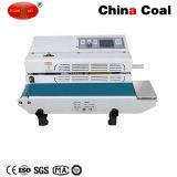 Машина 500W запечатывания полиэтиленового пакета Fr-600A непрерывная