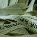 7:1 de facteur de sûreté de ceinture de sécurité d'élingue de levage de polyester de 5tx1m