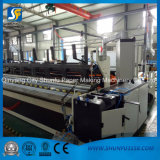 roulis complètement automatique de papier de machine de Rewinder de découpeuse de machine de papier de soie de soie de force de 1760mm