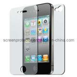 Clair Anti-Rayer le protecteur d'écran pour corps avant et arrière d'iPhone le plein