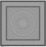 デジタルプリント正方形のスカーフ中国2017年