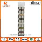 6 in 1 weißen keramischen Mechanismus-Gewürz-und Korn-Schleifern