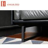 Sofá de cuero italiano del sofá de Seater Napa del contemporáneo 3 de los muebles de la sala de estar