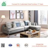 Sofà genuini di legno del cuoio del sofà con il prezzo di fabbrica