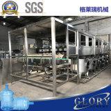 De automatische Lijn van de Installatie van het Water van 5 Gallon Zuivere Bottelende Vullende