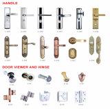 Puerta de acero de la puerta principal del diseño de la seguridad india del metal para la entrada